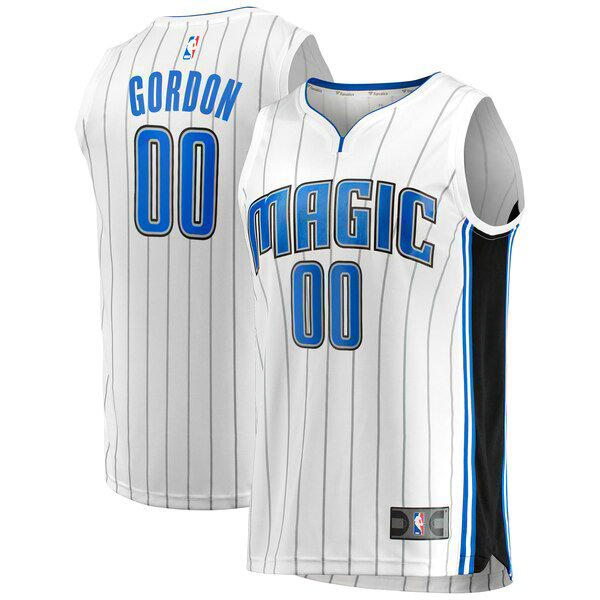 Camiseta nba Aaron Gordon 0 Association Edition Blanco Orlando Magic Hombre