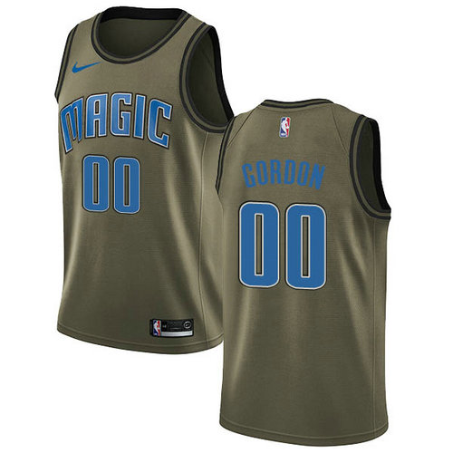 Camiseta nba Aaron Gordon 0 2018-2019 verde Orlando Magic Hombre