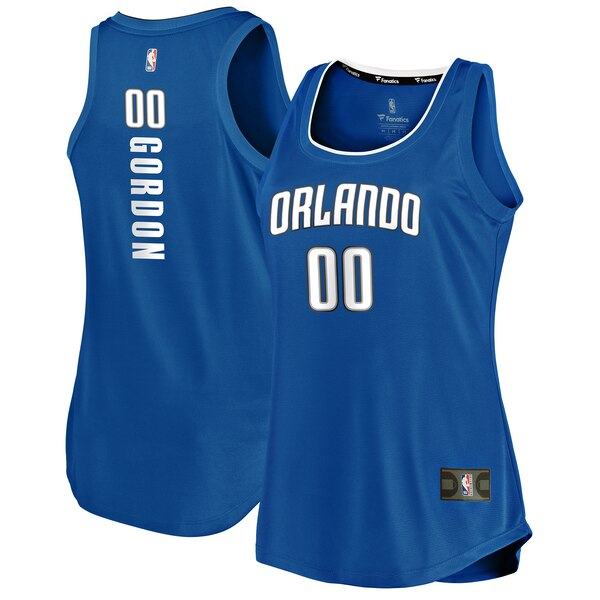 Camiseta nba Aaron Gordon 0 icon edition Azul Orlando Magic Mujer