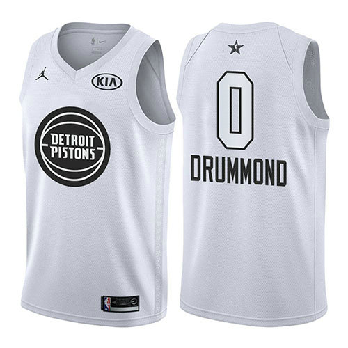 Camiseta nba Andre Drummond 0 Blanco All Star 2018 Hombre