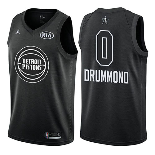Camiseta nba Andre Drummond 0 Negro All Star 2018 Hombre
