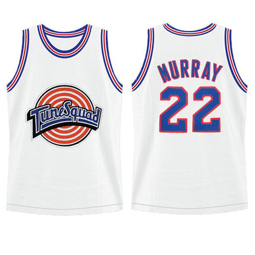 Camiseta nba Bill Murray 22 Blanco Tune Squad Hombre