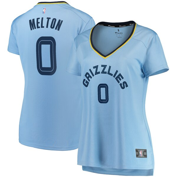 Camiseta nba De'Anthony Melton 0 statement edition Azul Memphis Grizzlies Mujer