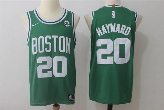 Camiseta nba Gordon Hayward 20 Baloncesto Verde Boston Celtics Hombre