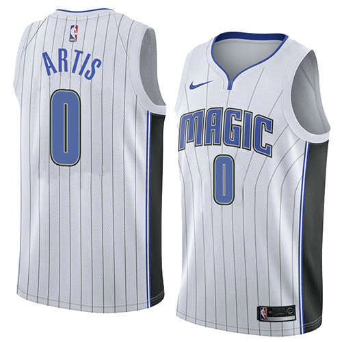 Camiseta nba Jamel Artis 0 Association 2018 Blanco Orlando Magic Hombre