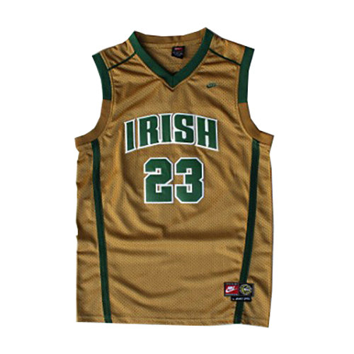 Camiseta nba LeBron James 23 Oro St. Vincent-St. Mary Hombre