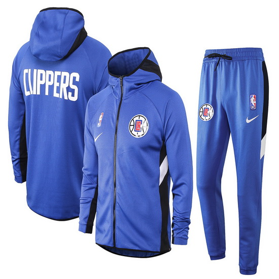 Chandal nba Nike nba Showtime Azul Los Angeles Clippers Hombre