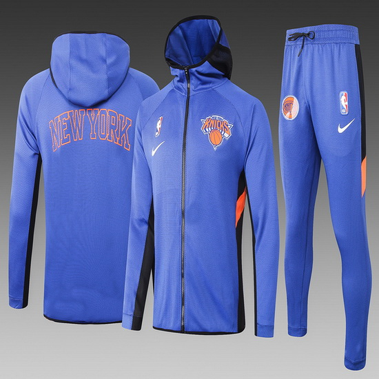 Chandal nba Nike nba Showtime Azul New York Knicks Hombre
