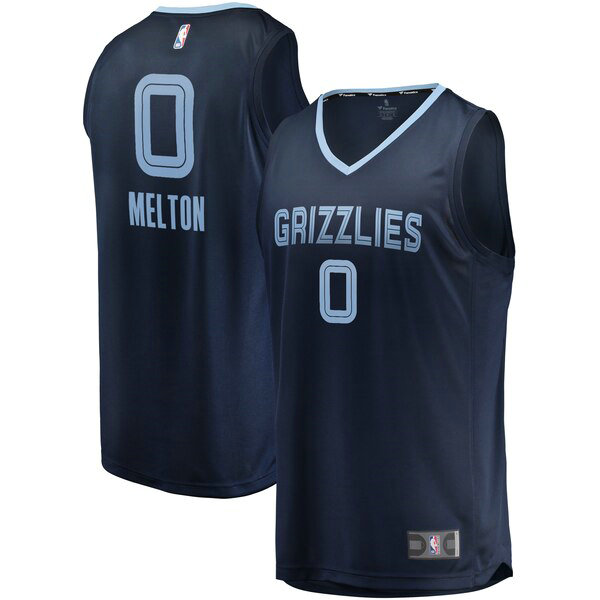 Camiseta nba De'Anthony Melton 0 Icon Edition Armada Memphis Grizzlies Hombre