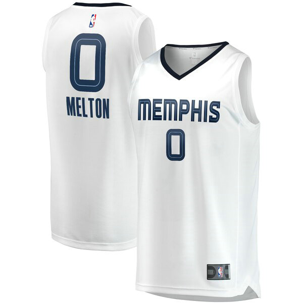 Camiseta nba De'Anthony Melton 0 Association Edition Blanco Memphis Grizzlies Hombre