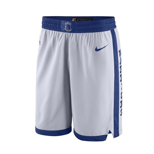 Pantalones Cortos nba 2017-18 Blanco Golden State Warriors Hombre